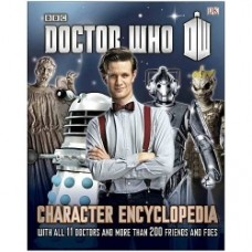 Doctor Who Character Encyclopedia Hardcover Book