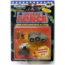 Micro Machines soldatini MULTI FORCE squadra speciale 4