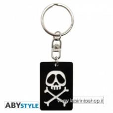 Captain Harlock Keychain logo