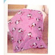 hello kitty coperta micro pile