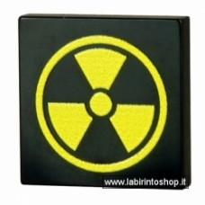 Black Radiation Tile - large Black Radiation Tile - large