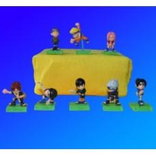 Naruto mini set di 8 pezzi