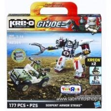 KRE-O G.I. Joe Playset - Serpent Armor Strike
