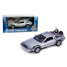 Back to the Future 2 DeLorean Time Machine Die-Cast Metal 1 24 Scale Vehicle