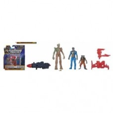 Guardians of the Galaxy Mini Action Figure 2-Packs - groot rocket raccon nova corps officer