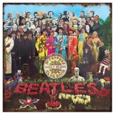 beatles vintage sign sgt.pepper