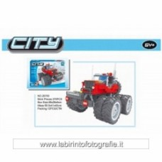 Ausini - City 25703 Monster Jeep