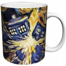 DOCTOR WHO - Mug Van Gogh Exploding TARDIS