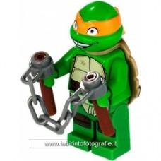 Michelangelo con arma
