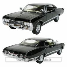 Supernatural Black 1967 Chevrolet Impala Sport Sedan 1 18 Scale Artisan Collection Die-Cast Vehicle
