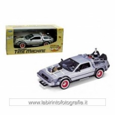 Back to the Future 3 DeLorean 1981 Time Machine Die-Cast Metal 1 24 Scale Vehicle