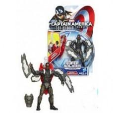 Captain America 2 Super Soldier Gear Figures Rocket Storm Falcon