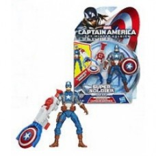 Captain America 2 Super Soldier Gear Figures shield blitz captain america