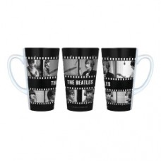 Beatles Film Negative 16 oz. Sublimated Latte Mug
