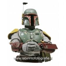 Star Wars Boba Fett Bust Bank