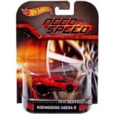 Hot Wheels Retro Entertainment Koenigsegg Agera R (Need for Speed)