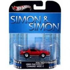 Hot Wheels Retro Entertainment Simon & Simon - 1985 CHEVROLET CAMARO IROC-Z