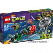 Ninja Turtles 79120 - T-Rawket Sky Strike