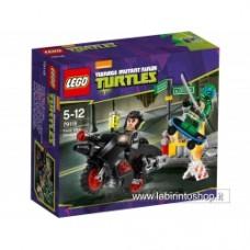 Ninja Turtles 79118 - Karai Bike escape