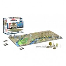 4D Paris Cityscape Time Puzzle