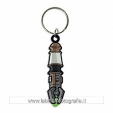 Doctor Who Rubber Keychain Sonic Screwdriver 7 cm circa