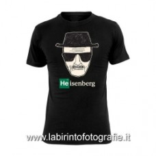 Breaking Bad - T shirt Heisenberg Wanted taglia L