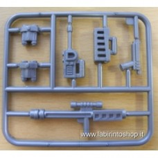 Ausini Set armi e altri accessori in sprue