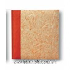 Album krispy Arancio con velina 24x32x30