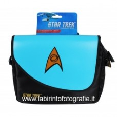 "Borsa messenger per tablet fino a 10"" - Star Trek Blu"
