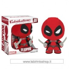 "Fabrikations Deadpool Plush Soft Sculpture Plush 6"" Tall"