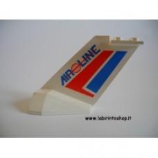 Airplane - Coda Bianca con scritte