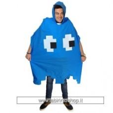 Retro Arcade Poncho blu