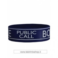 Doctor Dr Who Wristband Bracelet - Tardis Police Box