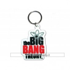 Big Bang Theory 2D Logo Rubber Keyring - Portachiavi In Gomma