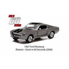 Hollywood Series 7 1/64 Scale Die-Cast Metal Vehicle - Gone in 60 Seconds 1967 musang - Eleanor