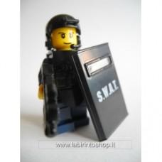 Brick-one Swat con mitraglaitore