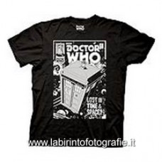 Doctor Who Comic Tardis Lost in Tme and Space Taglia M