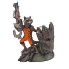 Guardians of the Galaxy Rocket Raccoon 1 10 ArtFX Statue