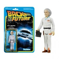 Back to the Future Doc Emmett Brown ReAction 3 3 4-Inch Retro Action Figure
