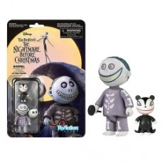 The Nightmare Before Christmas Barrel ReAction 3 3 4-Inch Retro Action