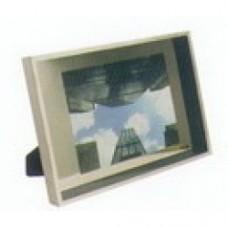 cornice alluminio e vetro
