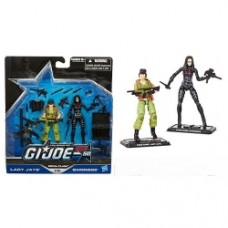 G.I. Joe 50th Anniversary Action Figures 2-Packs Lady jaye - Baronesse
