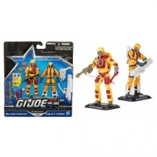 G.I. Joe 50th Anniversary Action Figures 2-Packs Blowtorch - H.E.A.T. Viper
