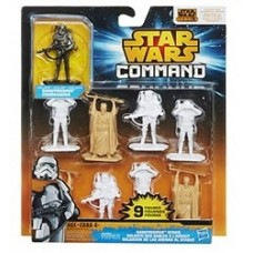 Star Wars Rebels Command Battles Figures sandtrooper strike