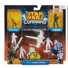 Star Wars Command Battles Figures Endor attack