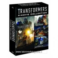 Transformers Quadrilogia 4 Dvd