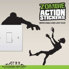 Action Stickers - Zombie