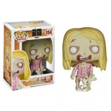 The Walking Dead Teddy Bear Girl Pop! Vinyl Figure