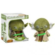"""Fabrikations Yoda Plush Soft Sculpture Plush 6"""" Tall"""