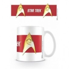 Star Trek mug engeneering red